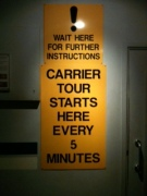 carrier sign
