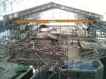 inside scaffold