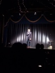 Luke Wright on stage